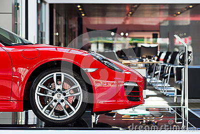 Автомобиль для продажи Редакционное Фото