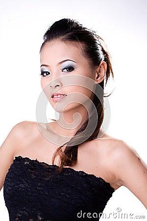 азиатская красотка