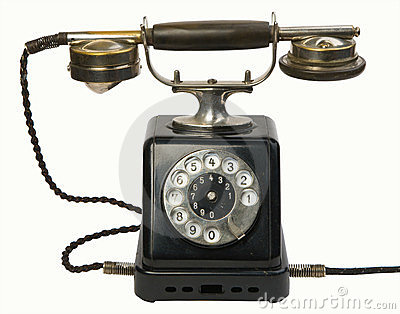 античный телефон