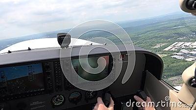 Арена самолета, аппаратуры пилотов, навигация сток-видео