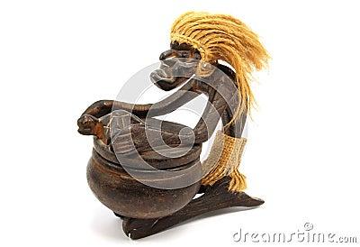 африканский барабанщик