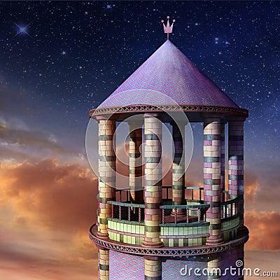 башня rapunzel