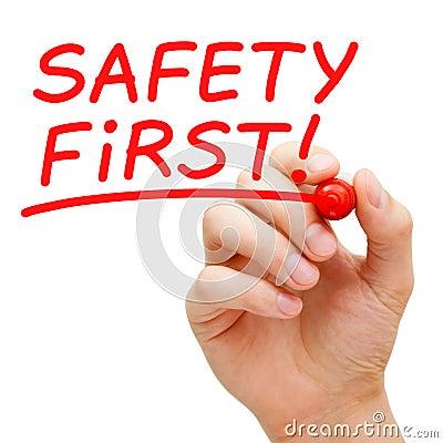 Безопасность прежде всего