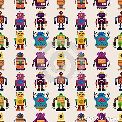 Безшовная картина робота