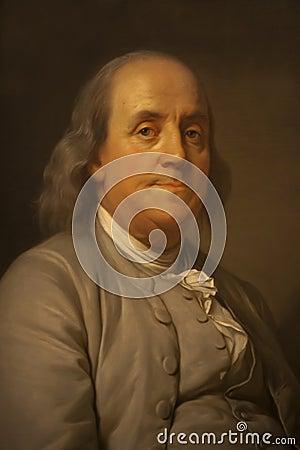 Бенжамин Франклин Редакционное Стоковое Изображение