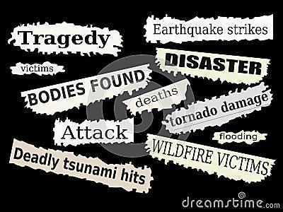 бедствия