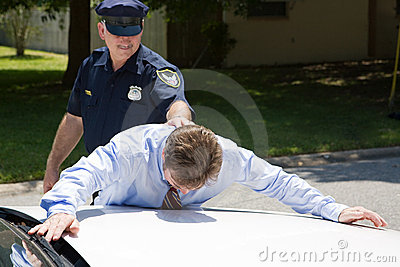 бизнесмен арестования вниз