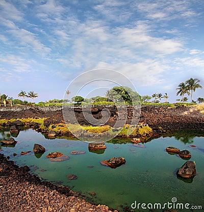 большой остров Гавайских островов