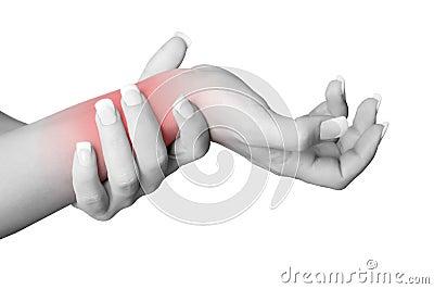 Боль запястья руки