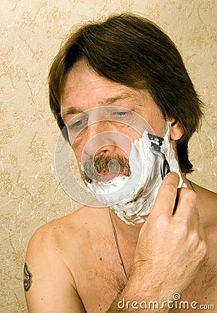 брить