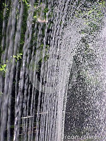 Брызгать fountaing