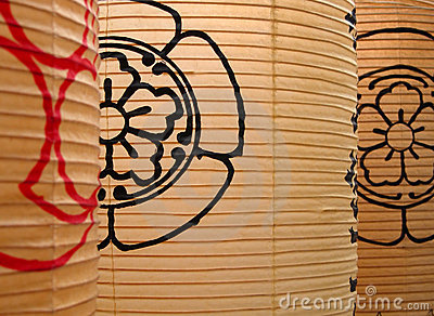 бумага японских фонариков