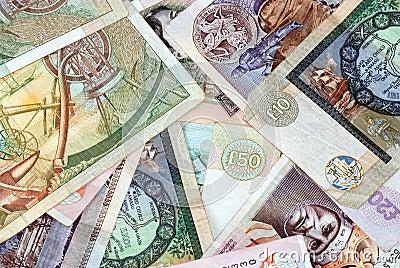 бумажные деньги шотландские
