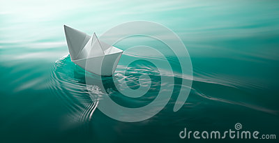 Бумажный sailing шлюпки
