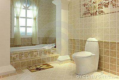 ванная комната довольно
