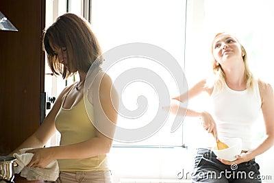 варить женщин