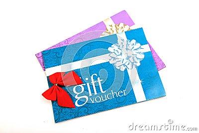 ваучеры подарка