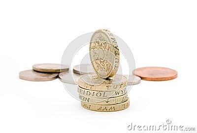 великобританские монетки