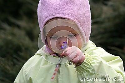 весна младенца