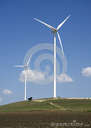 ветер турбины фермы