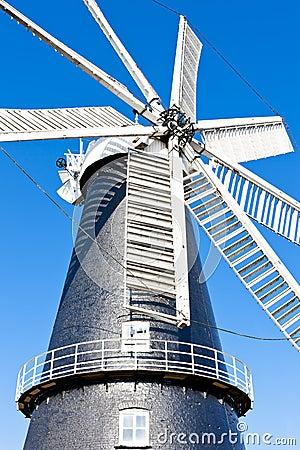 Ветрянка в Heckington