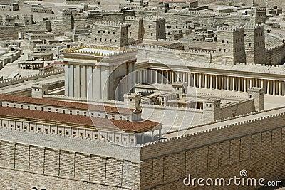 висок Израиля Иерусалима вторых