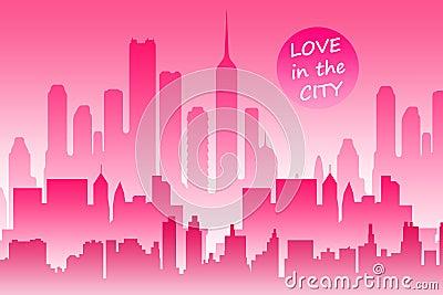 влюбленность города