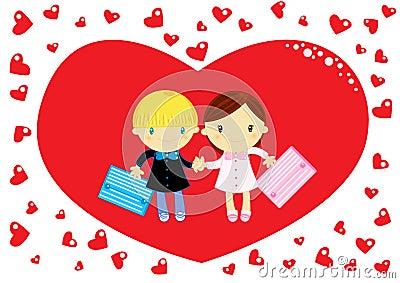 Влюбленность на школе