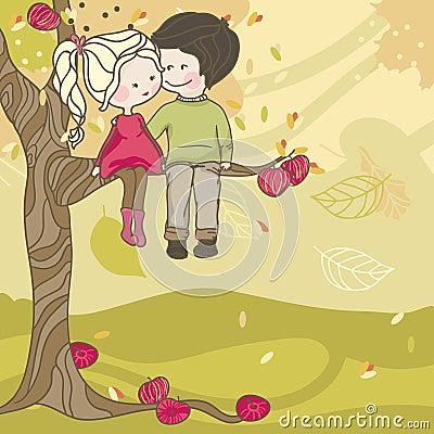 Влюбленность осени