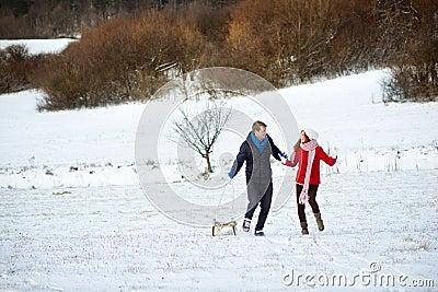 Влюбленность снежка
