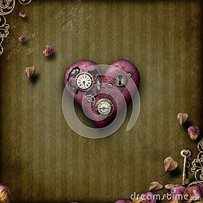 Влюбленность Steampunk