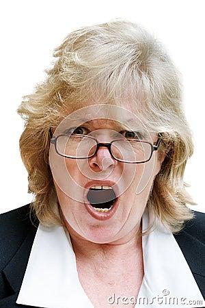 Возмужалый кричать женщины