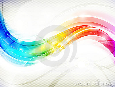 волна радуги