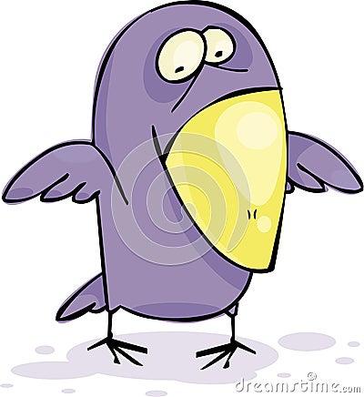 ворона смешная