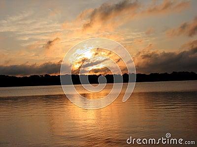 восход солнца лета шторма