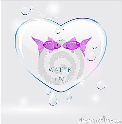 вода влюбленности
