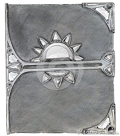 Волшебная обложка книги