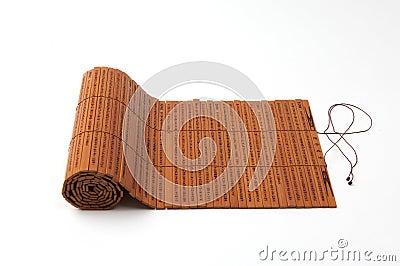 выскальзования бамбука