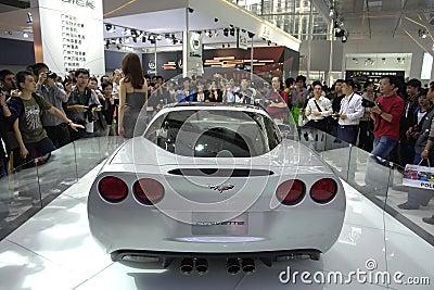 выставка guangzhou 2009 автомобилей Редакционное Стоковое Изображение