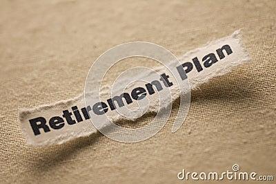 выход на пенсию плана