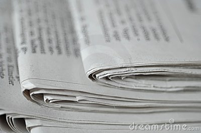 газета стола