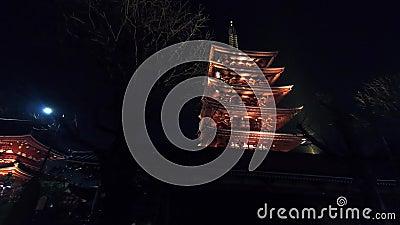 Гипер упущение в виске Японии акции видеоматериалы