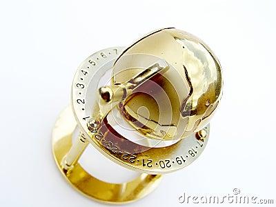 глобус золотистый