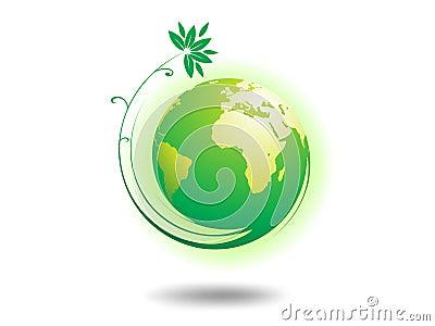 глобус окружающей среды