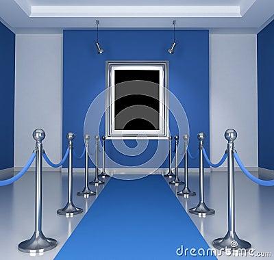 голубой музей