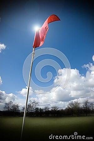 гольф флага