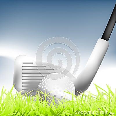 гольф 01