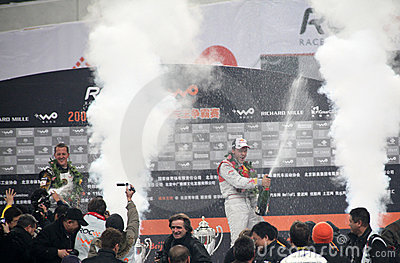 гонка 2009 чемпионов Редакционное Фото