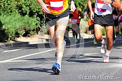гонщики марафона