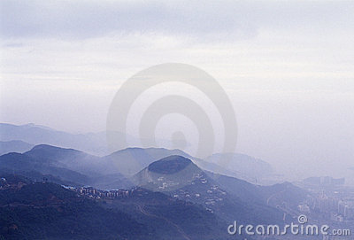 гора города